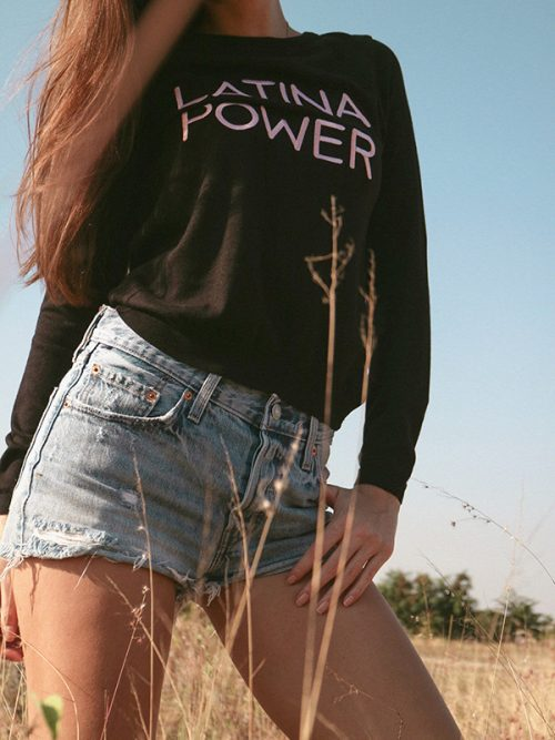 4-LATINA POWER-SWEATSHIRT-BLACK – GREY.