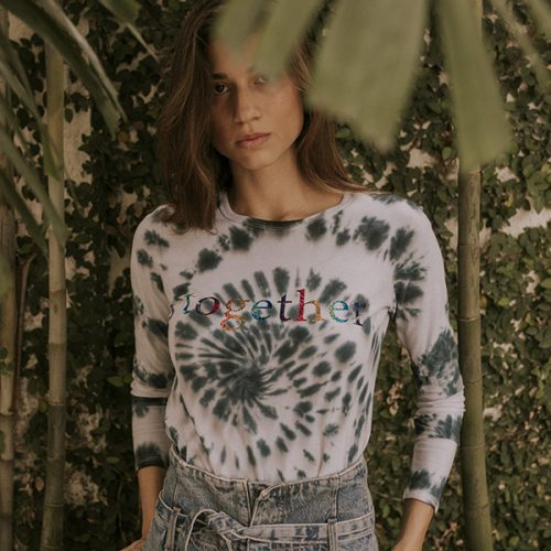 6-TOGETHER-BLACK TIE DYE-SWEATSHIRT-WHITE…