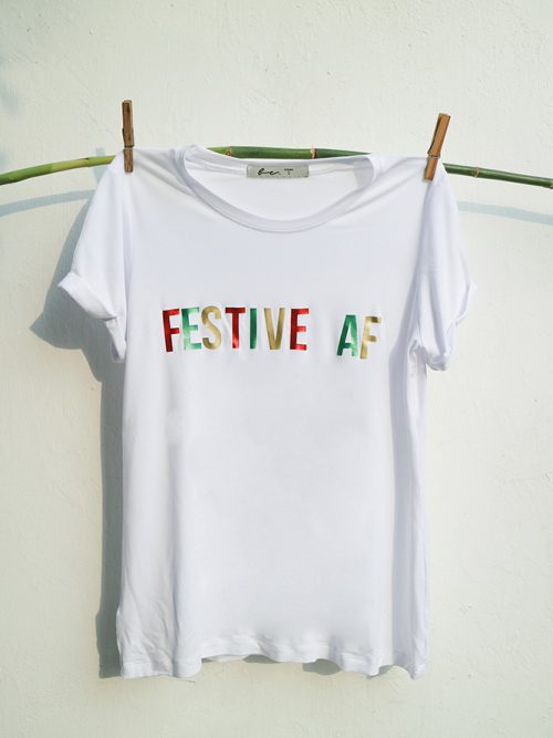9) FESTIVE – TSR – WHITE – BLACK-